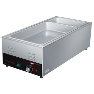 Hatco HW-43-QS Food Warmer Electric Countertop (4) 1/3 Pan Capacity Wet/Dry Operation (6128247406771)
