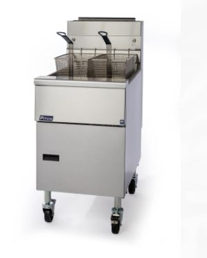 Pitco SG18-S Solstice Fryer Gas Floor Model Full Frypot 70-90 Lb. Oil Capacity 140000 BTU (6128250224819)