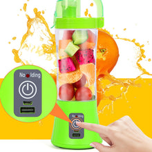 Load image into Gallery viewer, PORTABLE USB Wireless Blender Juicer