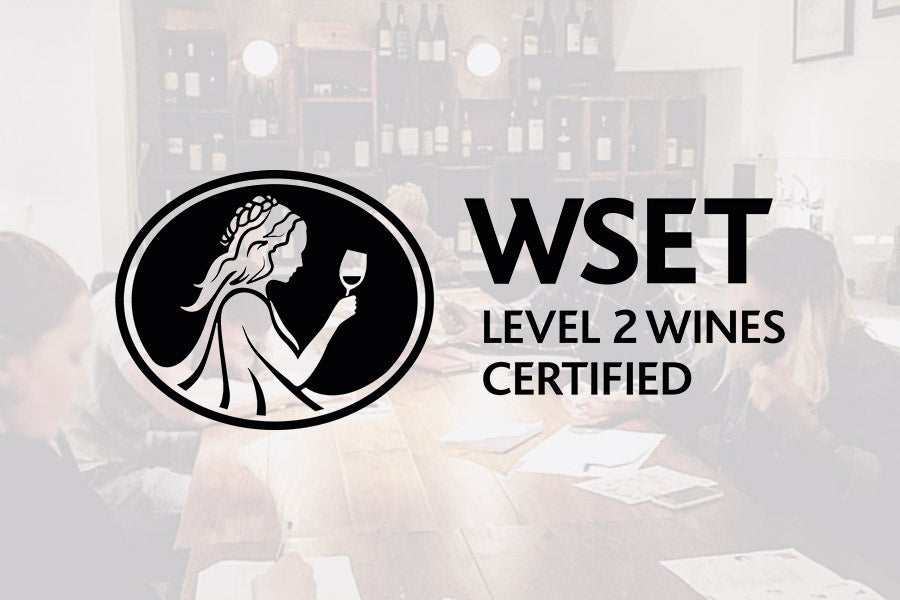 WSET Level 2 Award in Wines 7th, 14th and 21st of June 2021