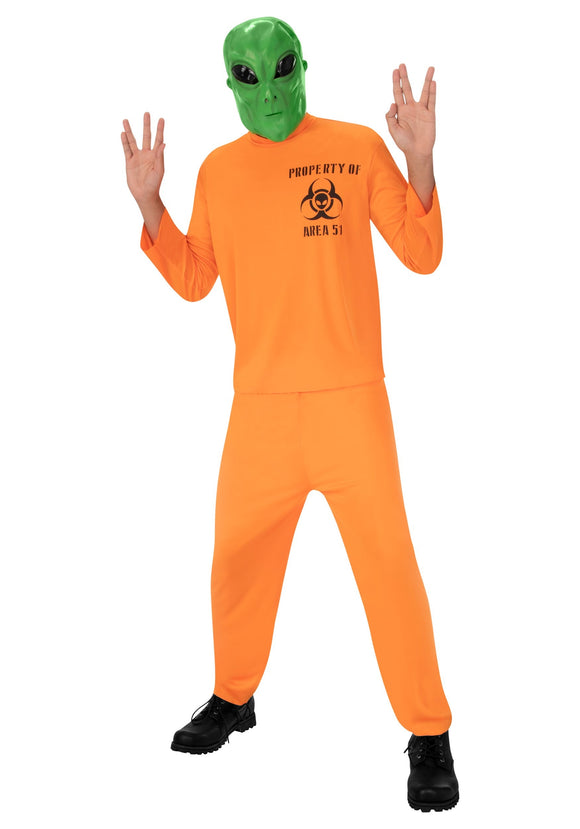 Area 51 Escapee Costume for Adults