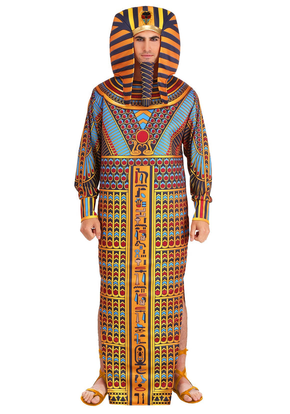 King Tut Sarcophagus Costume for Adults