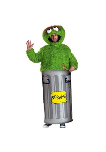 Adult Oscar the Grouch Costume