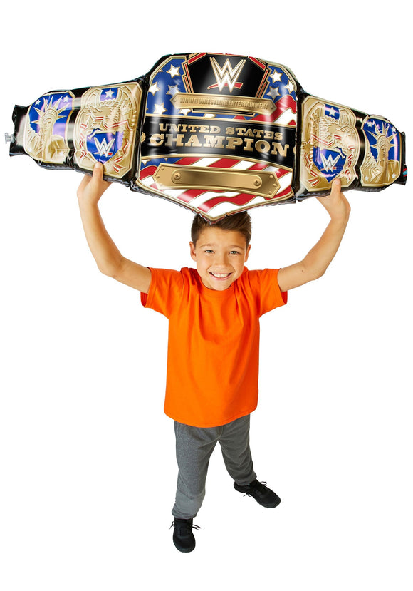 Kid's Inflatable WWE United States Championship Title Belt