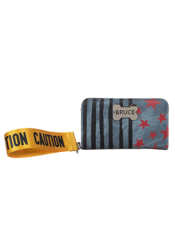 Harley Quinn  Caution Tape Birds of Prey Tech Wallet