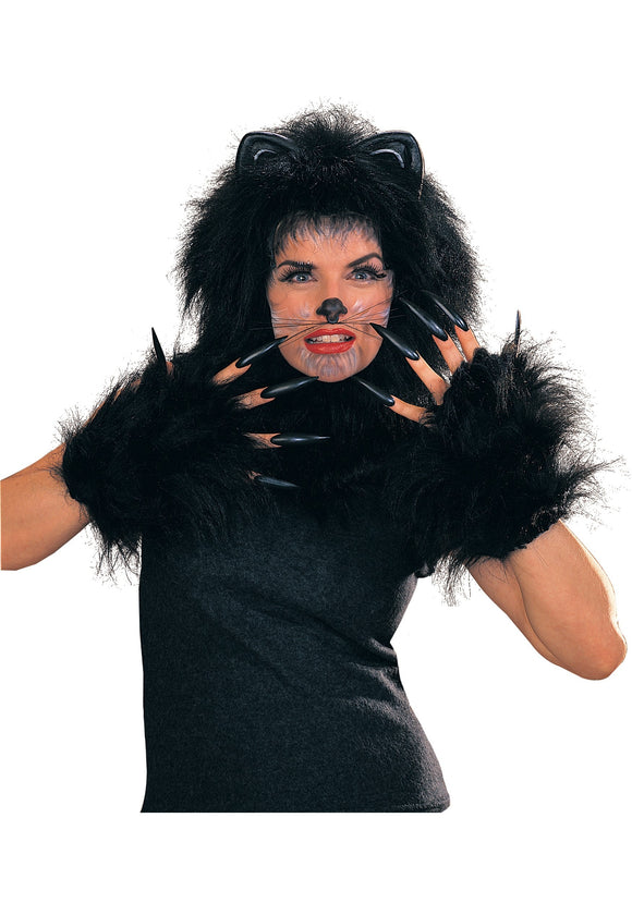 Black Animal Costume Whiskers
