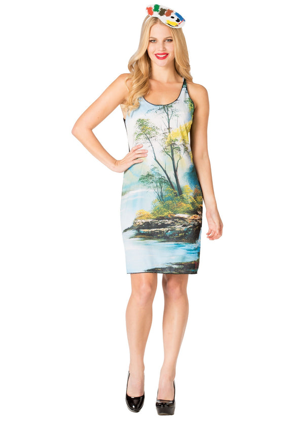 Bob Ross Tank Dress for Women