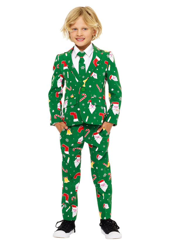 Boy's Santa Boss OppoSuit