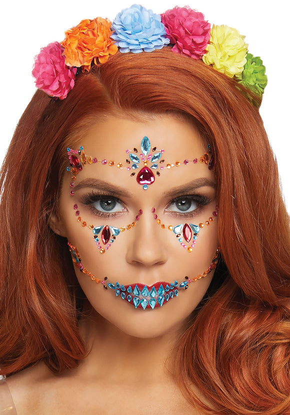 Face Jewels for Day of The Dead