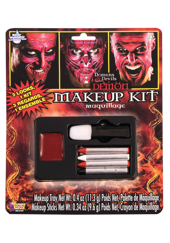 Forum Deluxe Demon Makeup Kit