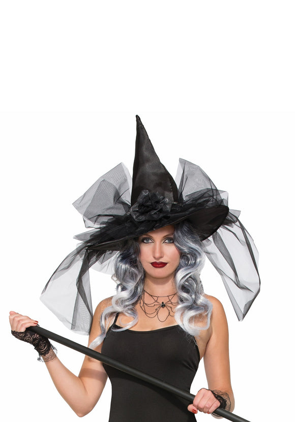 Witch Hat Deluxe with Bows