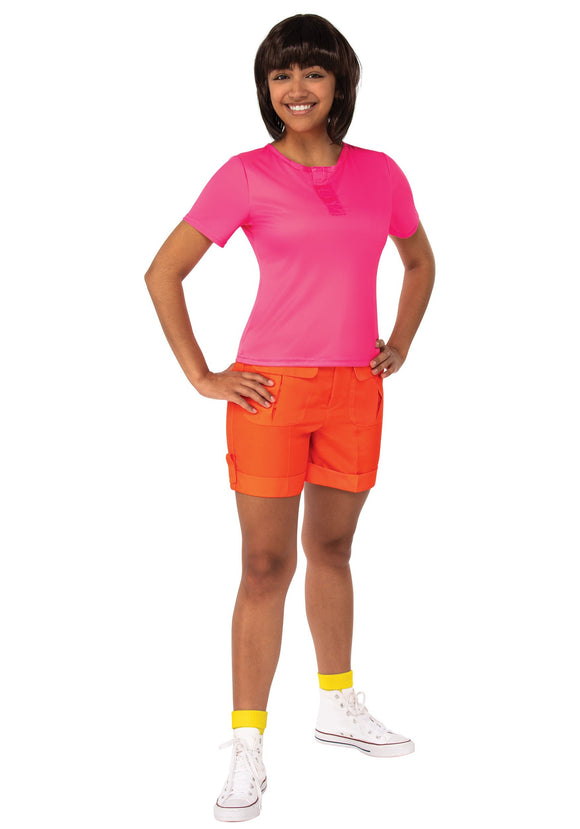 Dora the Explorer Dora Deluxe Costume for Adults