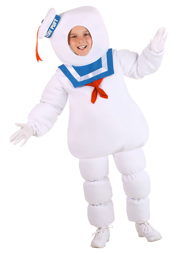 Ghostbusters Kids Stay Puft Costume