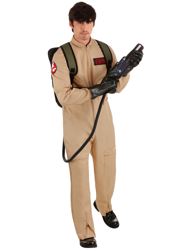 Men's Plus Size Deluxe Costume Ghostbusters
