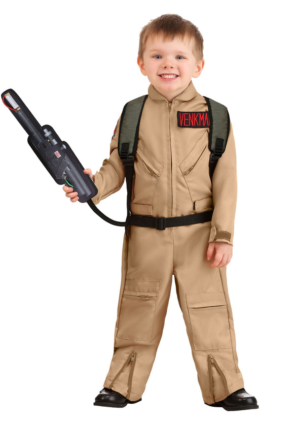 Toddler' Ghostbusters Deluxe Costume