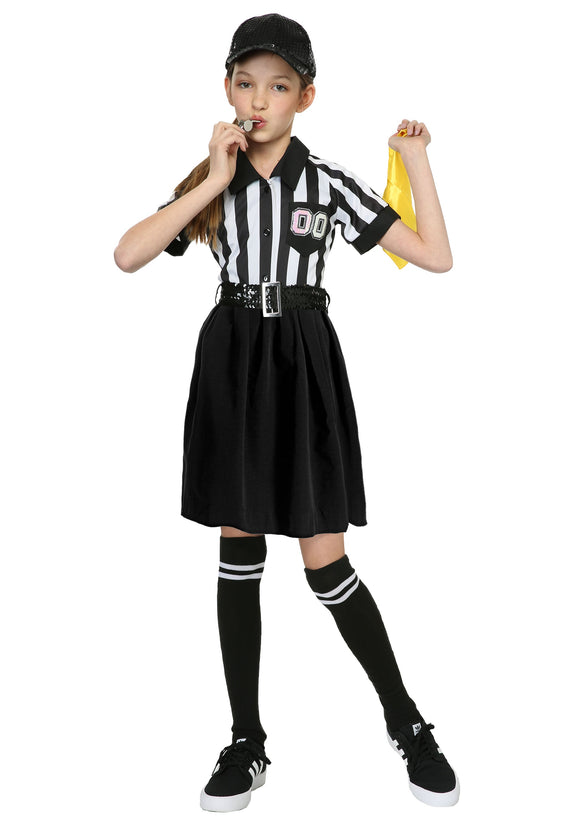 Referee Girl's Costume