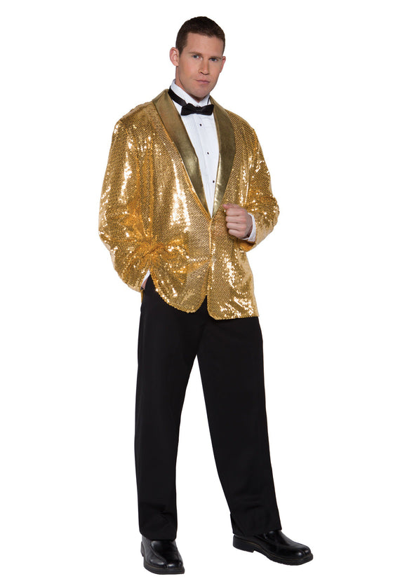 Costume Gold Sequin Jacket