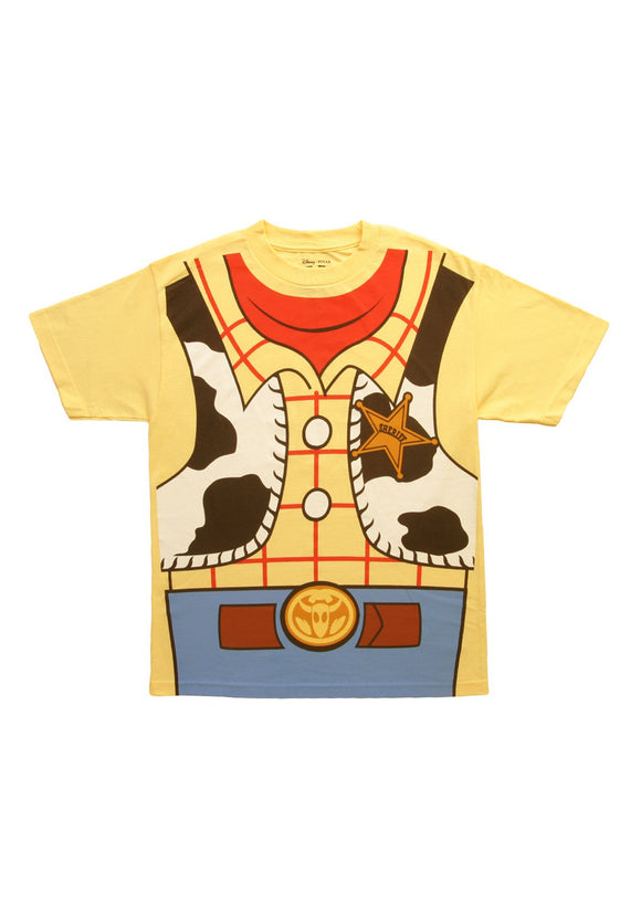 Toy Story I Am Woody Costume T-Shirt for Men