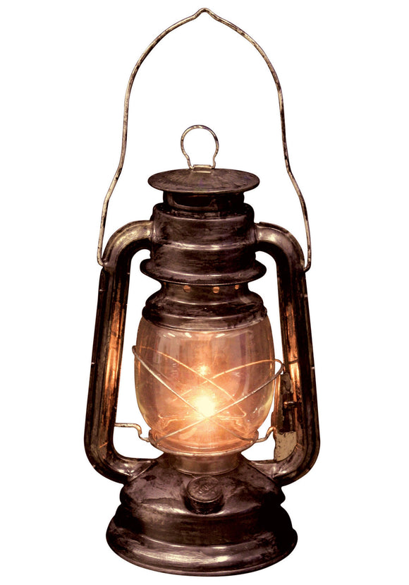 Light up Old Lantern - Scary Halloween Decorations