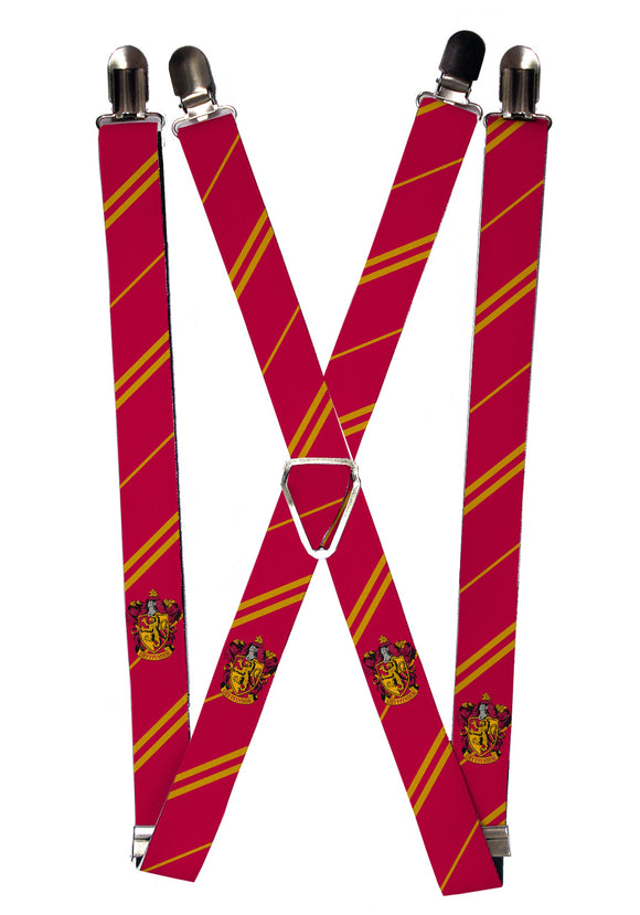 Harry Potter Men's Gryffindor Suspenders