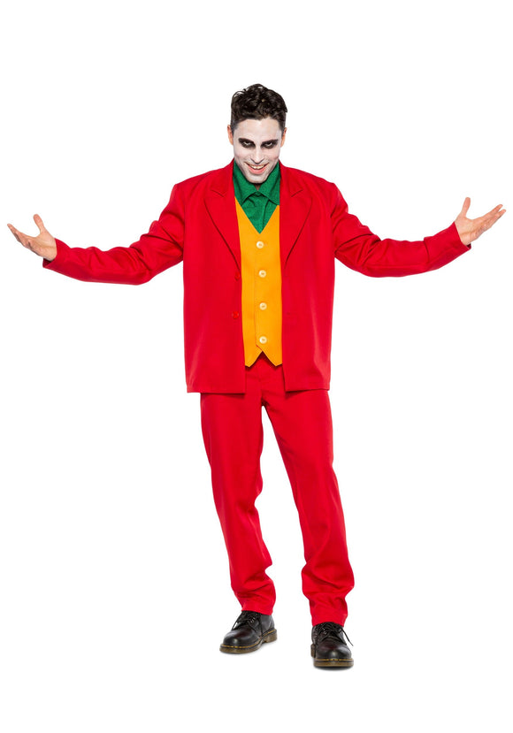 Men's Villain Costume Leisure Suit