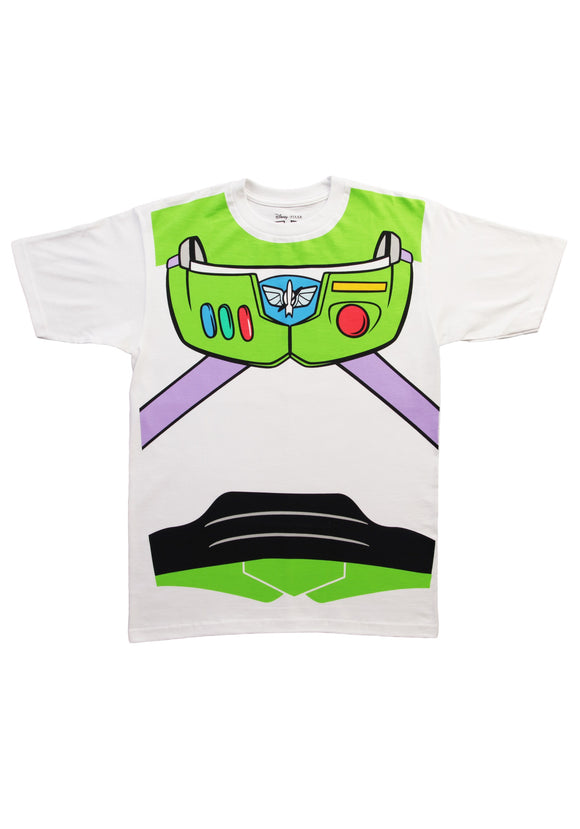 Toy Story Buzz Lightyear Costume Tee for Men