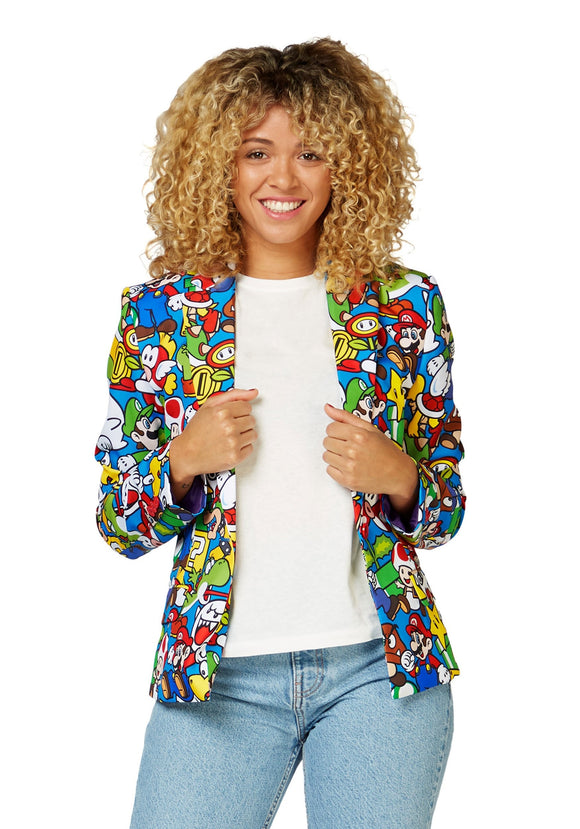 Opposuit Super Mario Blazer for Women