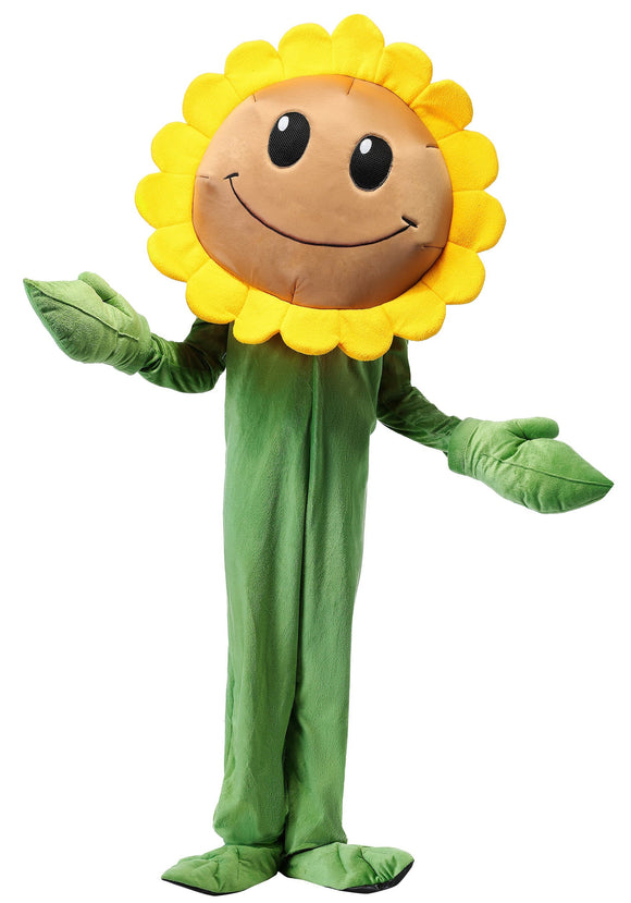 Plants Vs. Zombies Sunflower Costume for Kids