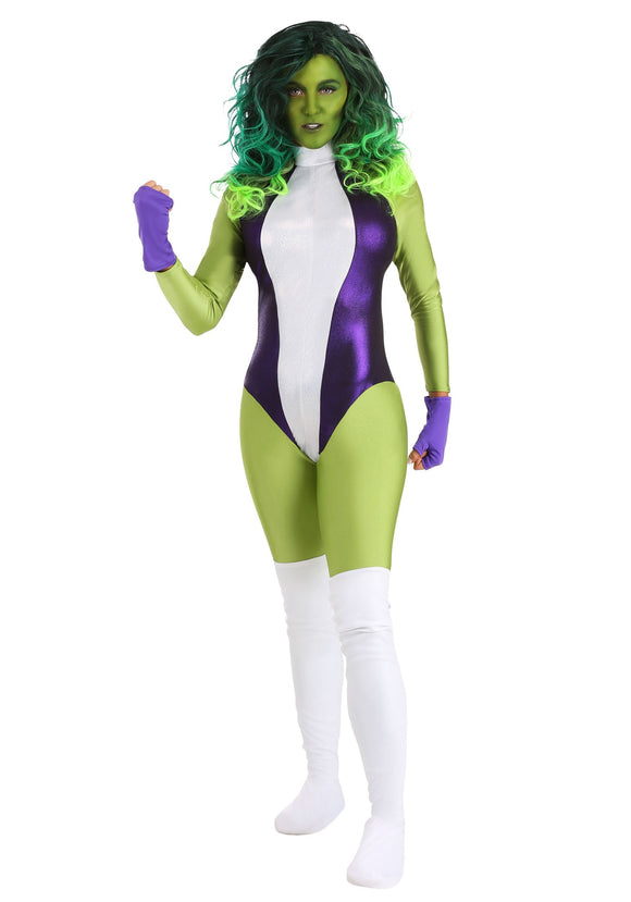 She Hulk Deluxe Women's Costume