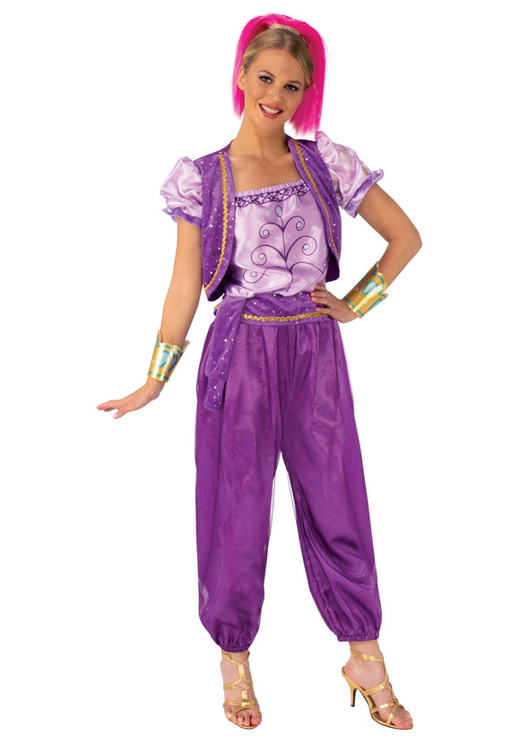 Deluxe Shimmer and Shine Women's Shimmer Costume