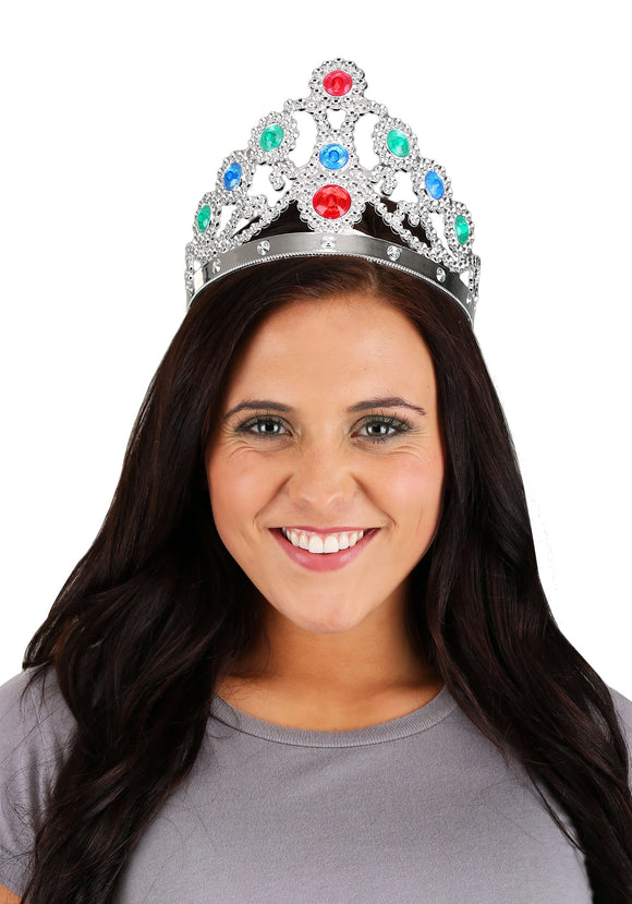 Silver Queens Tiara for Women