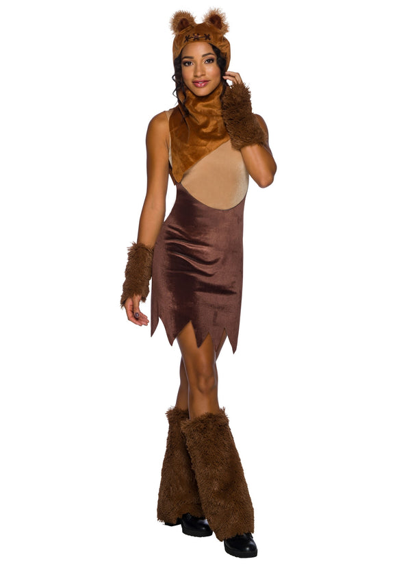 Women's Star Wars Ewok Dress Costume