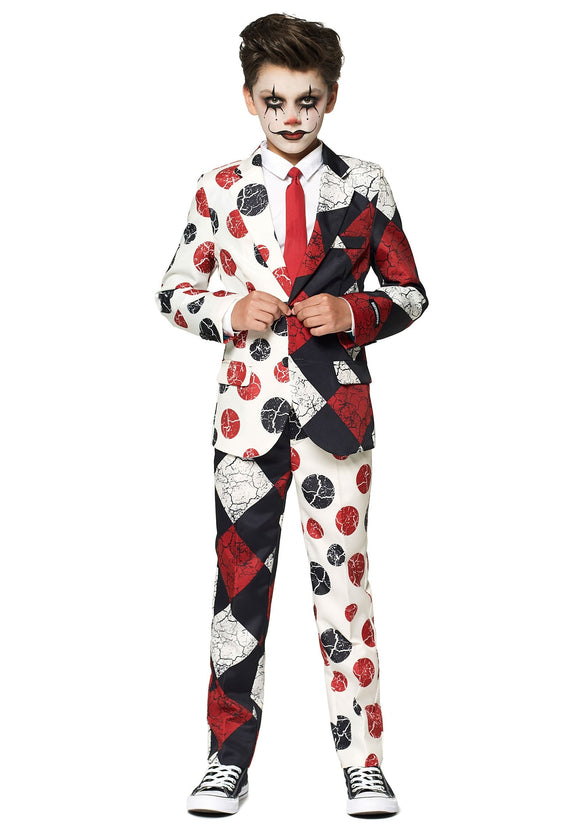 Boy's Suitmeister Clown Suit