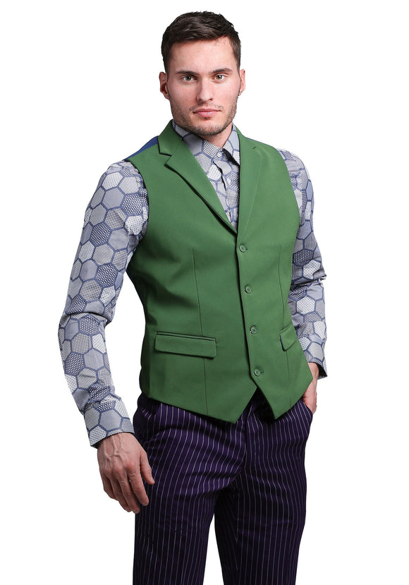 THE JOKER Slim Fit Suit Vest (Authentic)