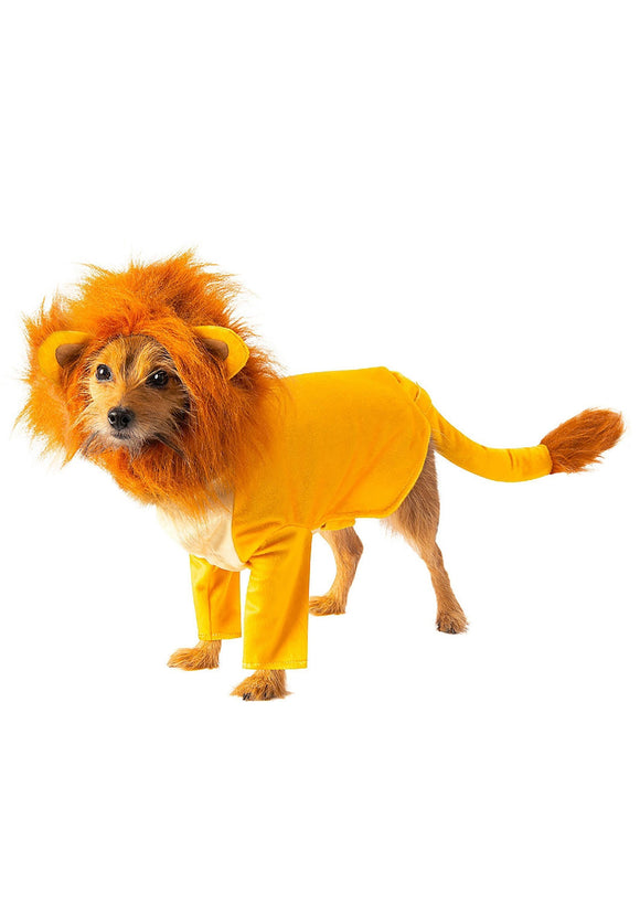Simba The Lion King Dog Costume