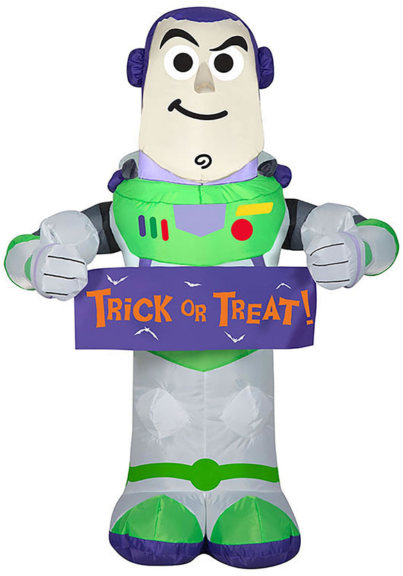 Inflatable Buzz Lightyear with Banner Toy Story