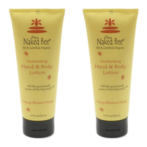 Naked Bee Orange Blossom Hand and Body Lotion (2 Pack)