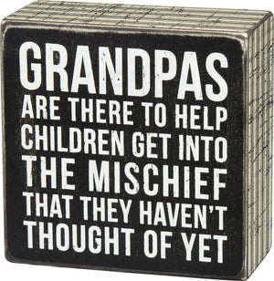 Grandpas Are There To Help