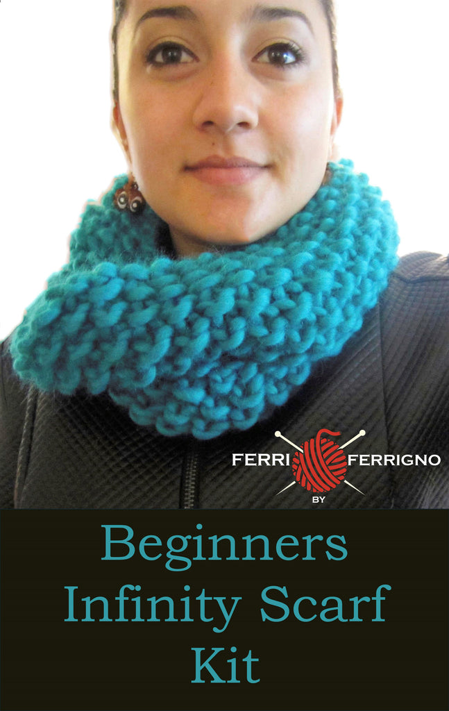 Beginners Infinity Scarf Kit
