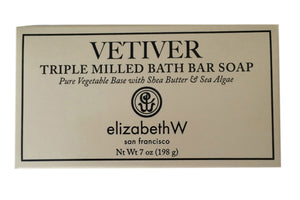 Vetiver Triple Milled Bath Bar Soap by elizabethW San Francisco