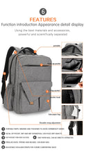 Load image into Gallery viewer, Backpack Diaper Bag - Waterproof Breathable with Stroller Buckles