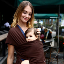 Load image into Gallery viewer, Baby Carrier Wrap and Nursing Cover Comfortable Breatheable