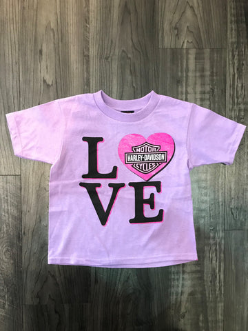 Love - Girls Tee