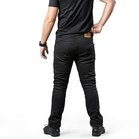 Draggin' Jeans Mens Twista Black Kevlar Jean
