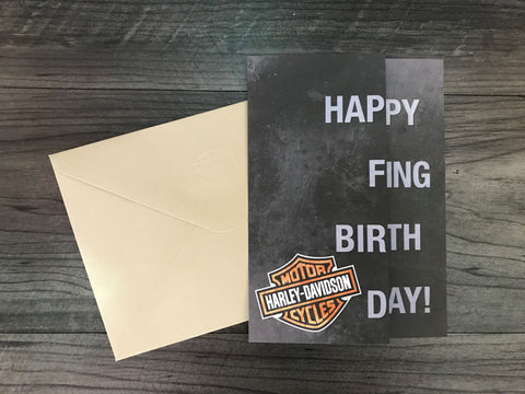 Happy F-Ing B-Day - Birthday Card