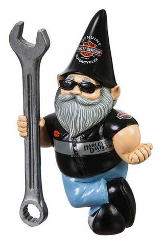 Harley-Davidson® Garden Gnome Male Mechanic