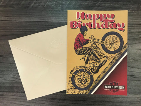 Not Over The Hill - Birthday Card