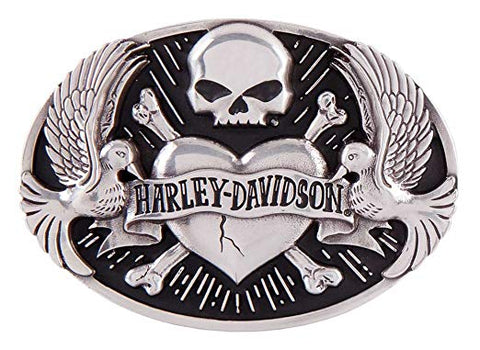 Harley-Davidson® Women's Sculpted Tattoo Belt Buckle