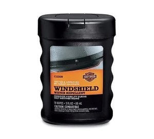 Harley-Davidson® Windshield Water Repellant Wipes