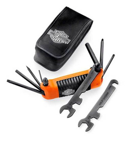 Harley-Davidson® All-in-One Folding Tool